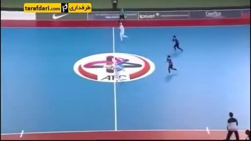 سوپر گل بانوان فوتسال ایران و صعود به فینال