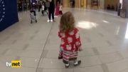 حیرت دختر بچه آمریکایی از شنیدن صدای اذان!!!(دیدنی)