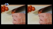 سریعترین روش برای برش گوجه فرنگی