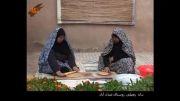 پخت نان زنجبیلی در روستای عبدل آباد مه ولات