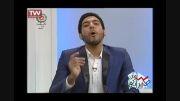 تقلید صدای گزارشگر والیبال (سامان طهرانی)