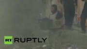 جنگ سنگین ارتش عراق با داعش در داخل رمادی