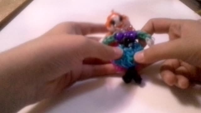 عروسک آنا با فانی بافت