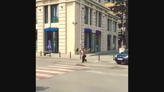 تمرین پا به روش جدید :))))) عاشق که باشی همینه دیگه :))