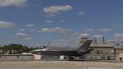 زمینگیر شدن جنگنده های اف-۳۵ آمریکا به علت نقص فنی