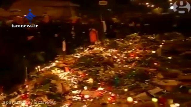 سایه ترس بر سر مردم پاریس - فرار مردم در پی اخطار