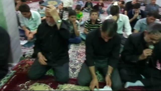 مراسم احیای مسجد حاج حسینی مهربان