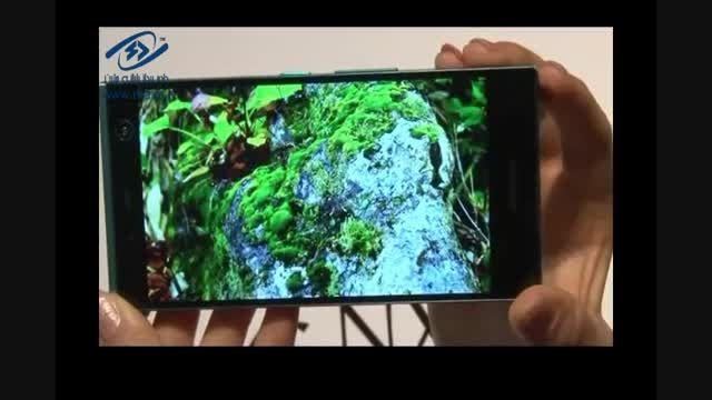 فوجیتسو اولین گوشی هوشمند مجهز به اسکنر عنبیه