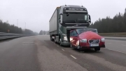 ترمز کامیون ولوو (سوئدی نه ایرانی!)