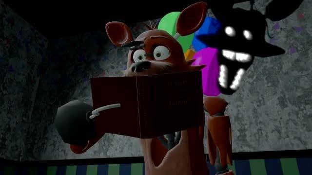 وقتی Foxy می ترسد