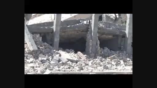 تخریب قبر صدام دیکتاتور معدوم عراق توسط داعش در تکریت