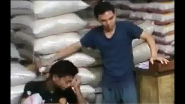 برنج پلاستیکی چینی در بازار