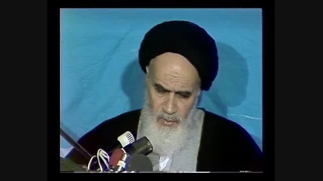 امام خمینی (ره): ما برای شکممان قیام نکردیم
