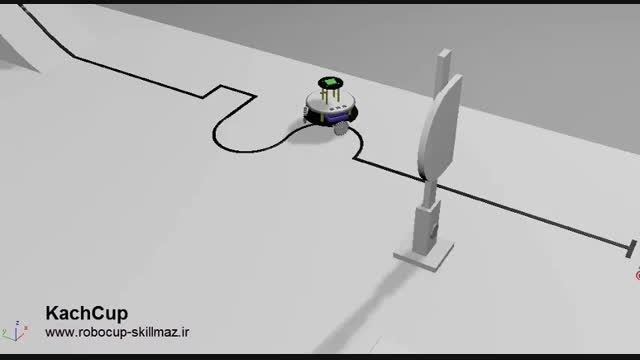 رباتیک - لیگ مسیریاب دانشجویی آزاد KachCup