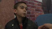 پسر بچه 10 ساله در چهارمین جشنواره مردمی فیلم عمار