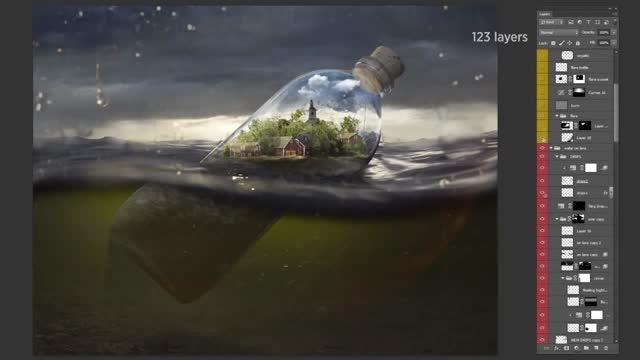 هنر فتوشاپ برای خلق تصاویر شگفت انگیز شماره دو