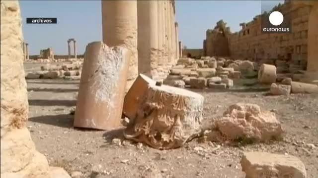 داعش معبد «بعل شمین» در پالمیرا را منفجر کرد