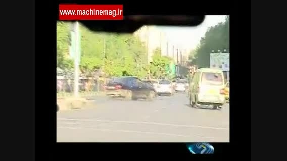 جولان خودروهای گران قیمت در بلوار اندرزگو