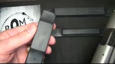 گیره ی آهنربایی اسلحه برای نگهداری سلاح در جاهای مختلف