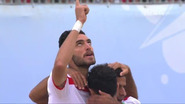 ایران VS مکزیک (جام جهانی فوتبال ساحلی 2015)با کیفیت HD