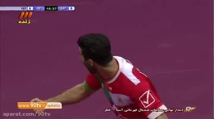 فینال هندبال انتخابی المپیک: ایران ۱۹-۲۸ قطر