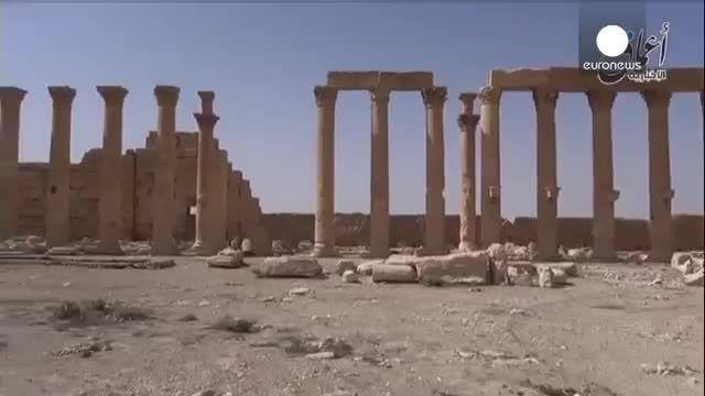 داعش پالمیرا را مین گذاری کرده است