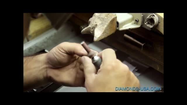 آموزش ساخت انگشتر الماس