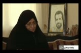 گریه مادر شهید احمدی روشن بعد از خبر دستگیری عوامل ترور فرزندش