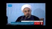 روحانی خطاب به منتقدان: بروید به جهنم!