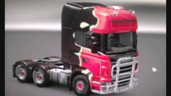 کامیون های من در بازی Euro  truck  simulator