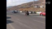 با مردم در یکروز تعطیل در حواشی تهران - آبعلی