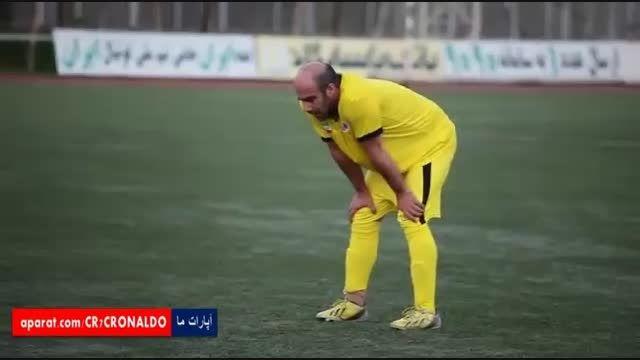 تمرینات تیم ستارگان ایران پیش از دیدار خیریه