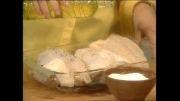 آموزش تهیه ساندویچ سالاد مرغ