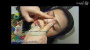 آموزش ماساژ صحیح بینی پس از عمل بینی