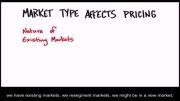 چگونه استارتاپ بسازیم 9 -13- انواع بازار و قیمت گذاری