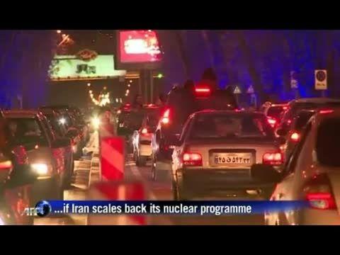 شادی مردم بعد از پیروزی هسته ای