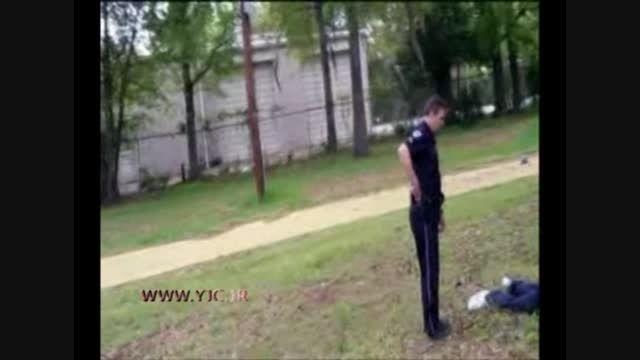 لحظه تیراندازی پلیس سفیدپوست آمریکا به یک سیاهپوست