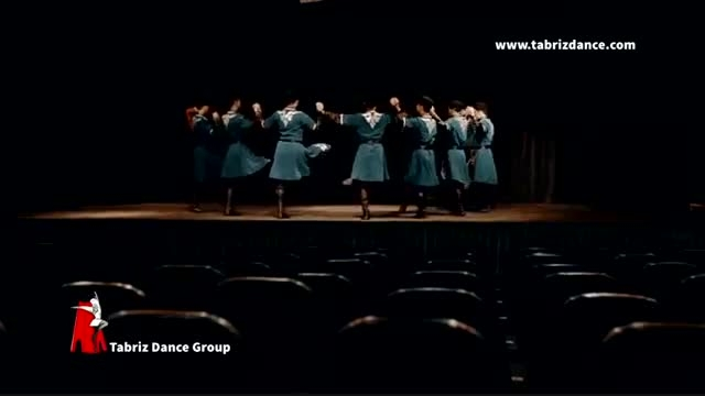 یاللی قدیمیترین رقص آذربایجان توسط گروه رقص آذری تبریز