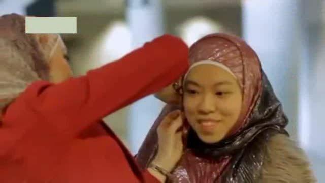 تبلیغ حجاب در لس آنجلس