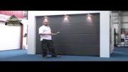 اندازه گیری دهانه درب برای نصب درب پارکینگ اتوماتیک ـسکشنال
