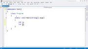 0005 آموزش برنامه نویسی سی شارپ - بخش اول: مقدمات - قسمت پنجم: متغیر، عدد و رشته، برنامه جمع
