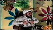 مرحوم حجت الاسلام خبازیان  چندشب قبل از سقوط هواپیمایشان در تهران شب نیمه شعبان سال 1373