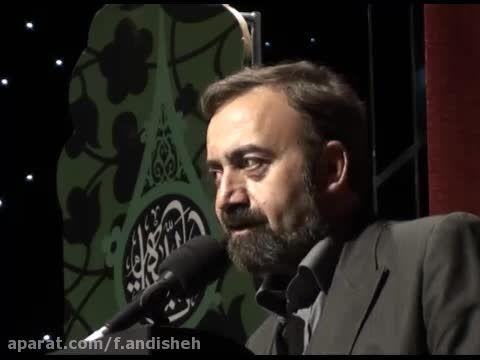 """شعرخوانی حاج حسن سلطانی در """" بر آستان اشک"""""""