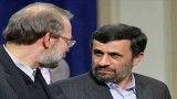 درگیری لفظی احمدی نژاد با لاریجانی