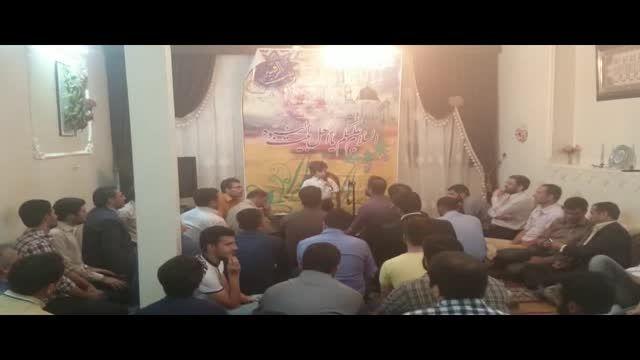 مداحی مداح خردسال- تقلید از حاج محمود کریمی