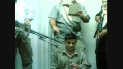 سر زدن یک جوان عراقی توسط داعش!! 18+