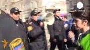 باکو ناآرام شد، بازداشت ده ها معترض از سوی نیروهای امنیتی