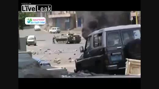 نیروهای ال مزدور عربستانی زیر اتش حوثی ها در یمن