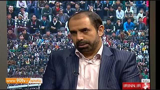 گفتگو با محمدزاده درباره استعفا از ریاست کمیته اخلاق