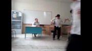 روز معلم در خرم آباد مدرسه شهرام حافظی